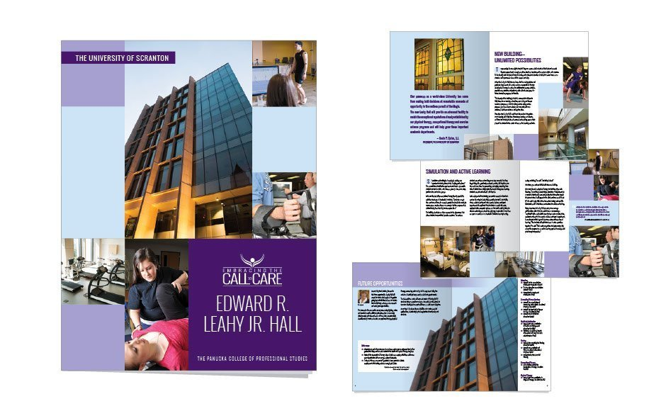 University of Scranton, Advertising and Brand Management Portfolio Item | Inspired Design Studio