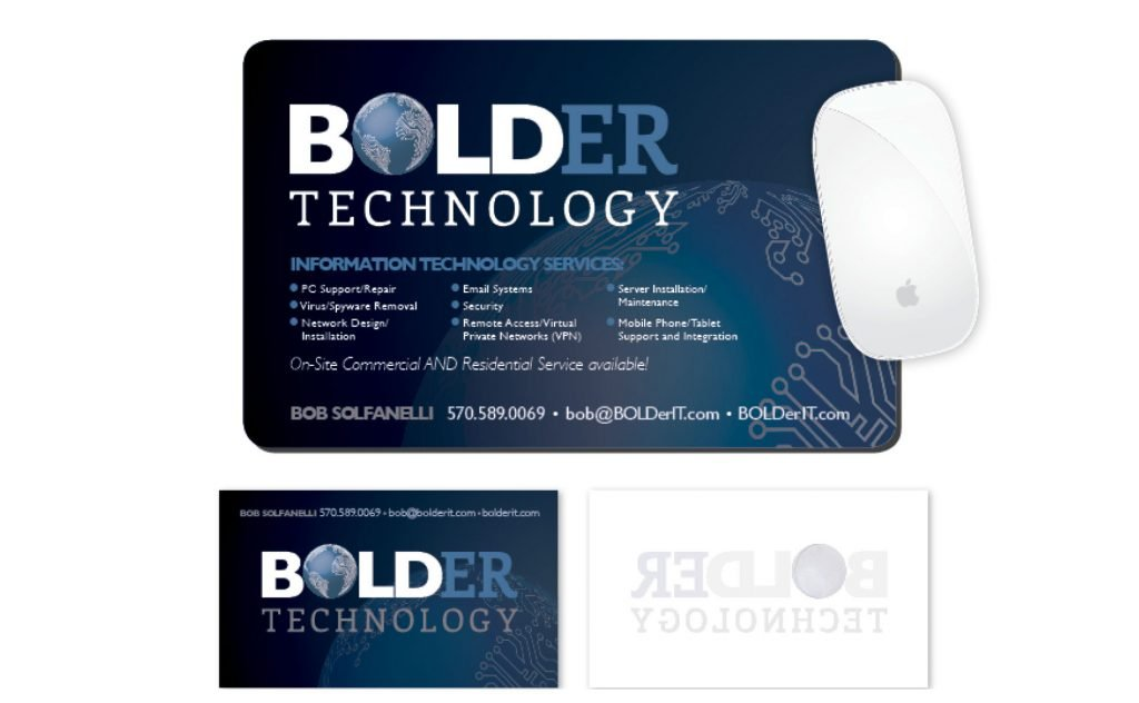 Bolder Technology, Logos and Branding Portfolio Item | Inspired Design Studio