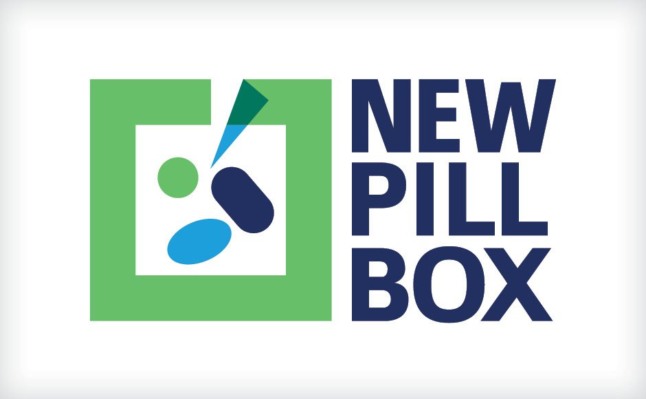 New Pill Box, Logos and Branding Portfolio Item | Inspired Design Studio