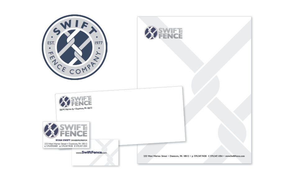 Swift Fence Company, Logos and Branding Portfolio Item | Inspired Design Studio