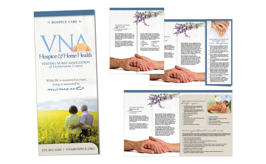 VNA Hospice Care, Logos and Branding Portfolio Item | Inspired Design Studio