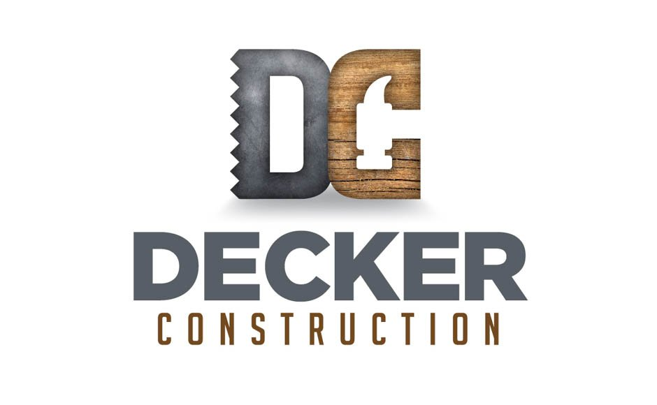 Decker Construction, Logos and Branding Portfolio Item | Inspired Design Studio