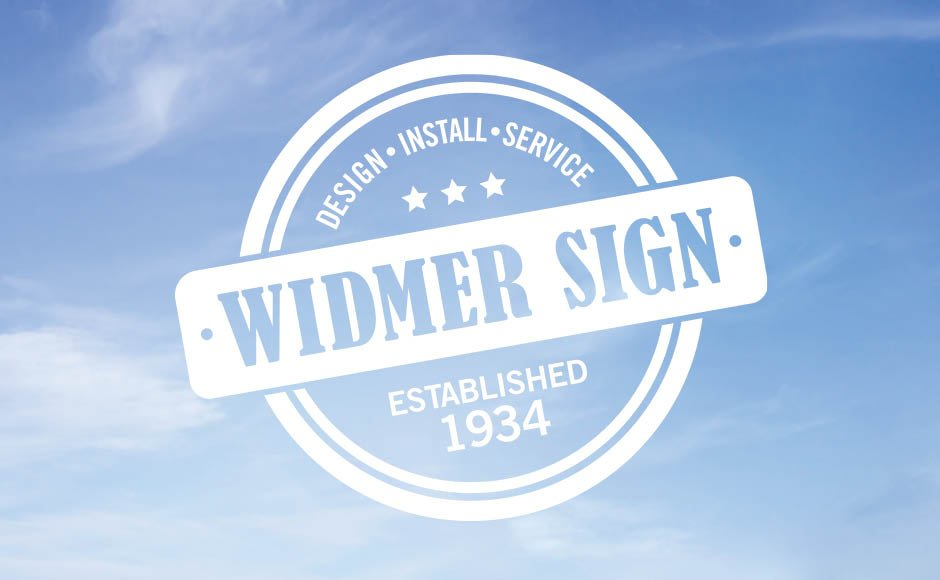 Widmer Sign, Logos and Branding Portfolio Item | Inspired Design Studio