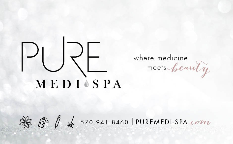 PureMedi-Spa, Logos and Branding Portfolio Item | Inspired Design Studio
