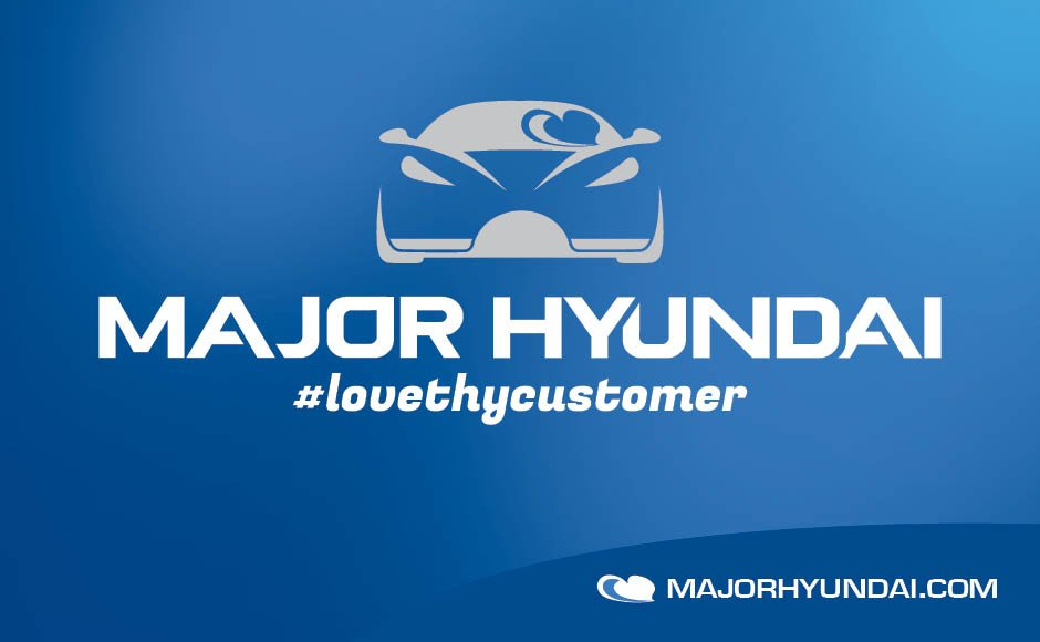 Major Hyundai, Logos and Branding Portfolio Item | Inspired Design Studio
