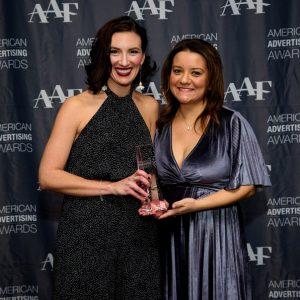 Silver Award, American Advertising Award, Inspired Studio, Maria Traino, Loriah Webby, Loriah Van Stone, Design Award, Award, Scranton, Wilkes-Barre